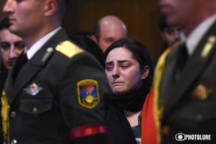 Requiem of a capitan Armenak Urfanyan took place at the St. Hovhannes Church in Yerevan